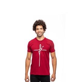Camiseta Fé | Vinho | Pecado Zero | M