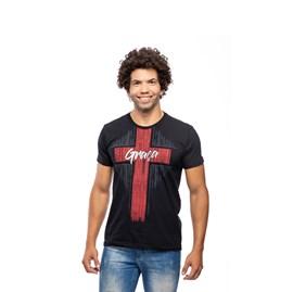 Camiseta Graça   Preta   Pecado Zero   G