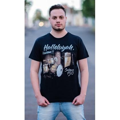 Camiseta Halleluyah | Preta | Pecado Zero