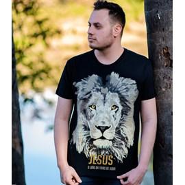 Camiseta Jesus Leão da Tribo | Preta | Pecado Zero | GG