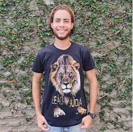 Camiseta Leão Novo | Preta | Pecado Zero