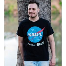 Camiseta Nada é Impossível | Preta | Pecado Zero