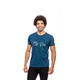 Camiseta Porque Ele Vive | Azul | Pecado Zero | M