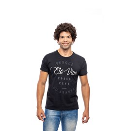 Camiseta Porque Ele Vive | Pecado Zero
