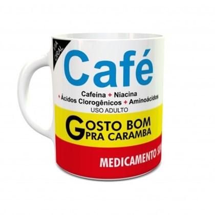Caneca Café Gosto Bom Pra Caramba