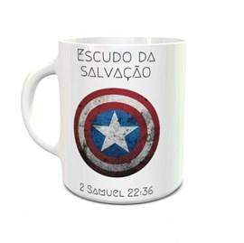 Caneca Escudo da Salvação (Capitão América)