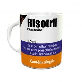 Caneca Risotril Diabonitol (Rir é o melhor remédio)