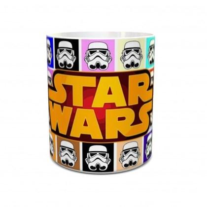 Caneca Star Wars Completo Stormtooper