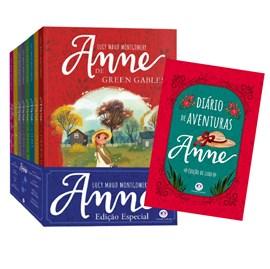 Coleção Anne de Green Gables Com 8 livros + Diário de aventuras