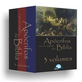 Coleção Apócrifos e Pseudo-Epígrafos da Bíblia   3 Volumes   Eduardo De Proença