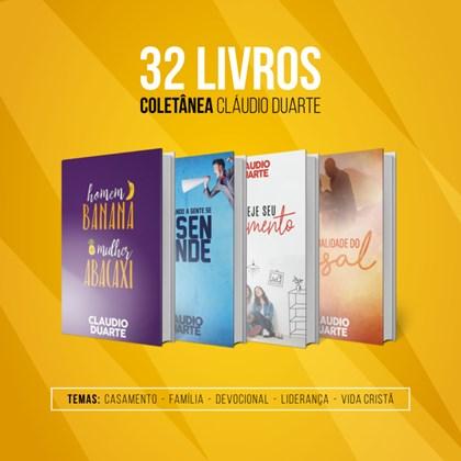 Coletânea – 32 Livros | Pr. Cláudio Duarte