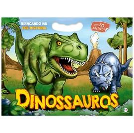 Colorindo Dinossauros | Ciranda Cultural C/ Adesivos