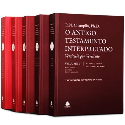Comentário Bíblico | Antigo Testamento Interpretado | 5 Vol. | Russel N. Champlin