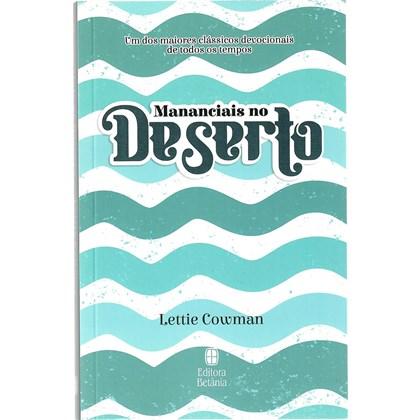 Devocional Mananciais no Deserto | Lettie Cowman | Azul