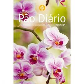 Devocional Pão Diário vol 24 | Capa Flores