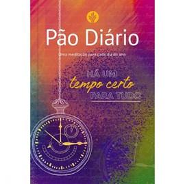 Devocional Pão Diário vol 24 | Capa Tempo Certo