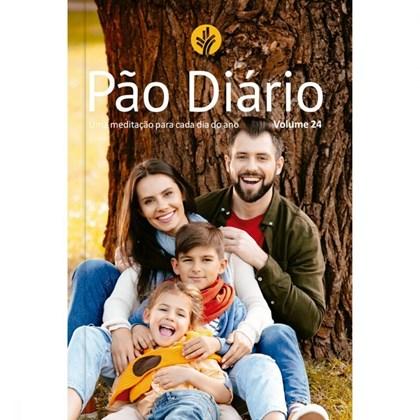 Devocional Pão Diário vol 24 | Letra Gigante | Capa família