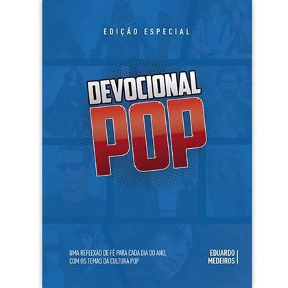 Devocional Pop | Eduardo Medeiros | Capa Dura Azul