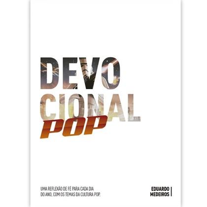 Devocional Pop | Eduardo Medeiros | Capa Dura Branca