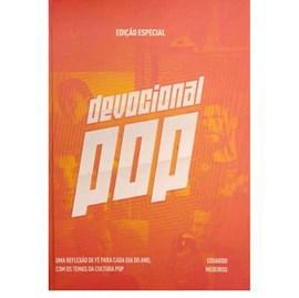 Devocional Pop | Eduardo Medeiros | Capa Dura Laranja