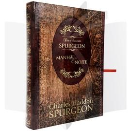 Dia a Dia com Spurgeon - Manhã e Noite   C. H. Spurgeon   Tecido   Presente