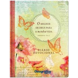 Diário Devocional O melhor de Deus para a minha vida | Capa Dura