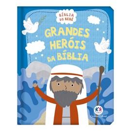 Grandes Heróis da Bíblia | Bíblia Do Bebê | Capa Almofadada