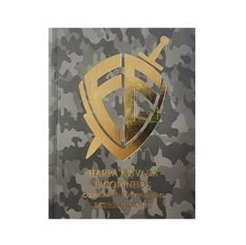 Harpa Avivada e Corinhos Médio | Letra Gigante | Capa Escudo Fé Camuflado Brochura