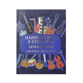 Harpa Avivada e Corinhos Médio | Letra Gigante | Capa Notas Musicais Brochura