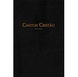 Hinário Cantor Cristão Com Letra | Grande | Capa Dura