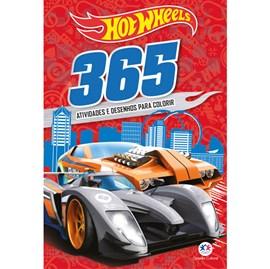 Hot Wheels 365 Atividades e Desenhos para Colorir