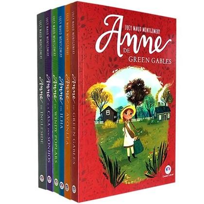 Kit 6 Livros   Anne De Green Gables Lucy Maud Montgomery