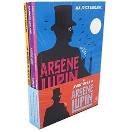 Kit As aventuras de Arsene Lupin | Com 3 Livros