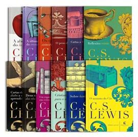 Kit de 12 Livros C. S. Lewis | Edição Completa