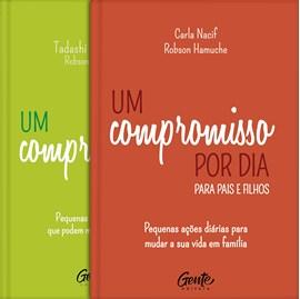 Kit de 2 Livros Um Compromisso por Dia | Capa Dura