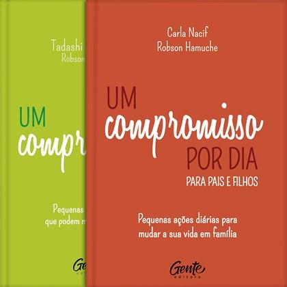 Kit de 2 Livros Um Compromisso por Dia   Capa Dura