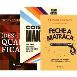 Kit de 3 Livros | Steven Furtick