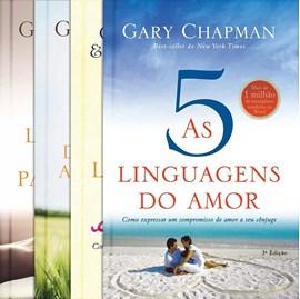 Kit de 4 Livros As 5 Linguagens do Amor | Gary Chapman