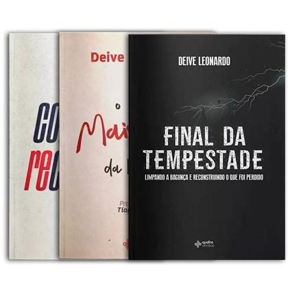 Kit De Livros Completo Deive Leonardo 2021