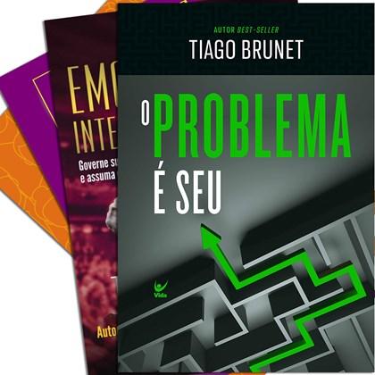 Kit de Livros Lançamentos Tiago Brunet
