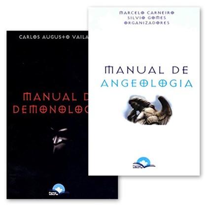 Kit de Livros Manual Demonologia + Angeologia