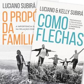 Kit de Livros Propósitos da Família   Luciano Subirá