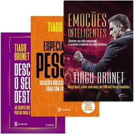Kit de Livros Tiago Brunet