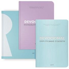 Kit Devocional do Secreto + Planner do Secreto Completo Azul