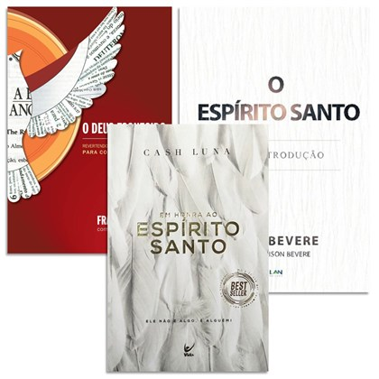Kit Espírito Santo | John Bevere, Francis Chan e Chad Mitchell