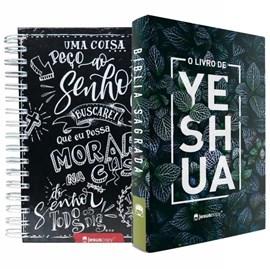 Kit Jesus Copy | Agenda Lettering & Bíblia Yeshua