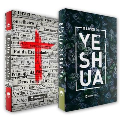 Kit Jesus Copy |  Bíblia Yeshua e Bíblia Cruz