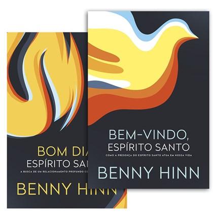 Kit Livros   Bem-vindo Espírito Santo   Bom dia Espírito Santo   Benny Hinn