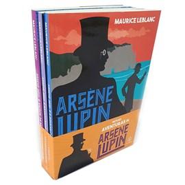 Kit Novas aventuras de Arsene Lupin | Com 3 Livros