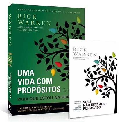 Kit Vida Com Propósitos | Rick Warren